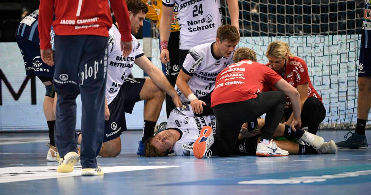 Franz Semper injuried in match against Pick Szeged in Champions League